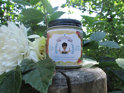 Garden of Love | Gardenia and Rose | 4oz. Soy Candle