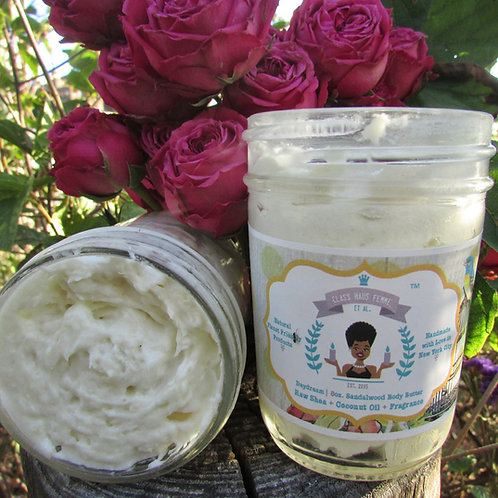 2 Medium Body Butters | Pick Your Fragrance | 8oz. Body Butter