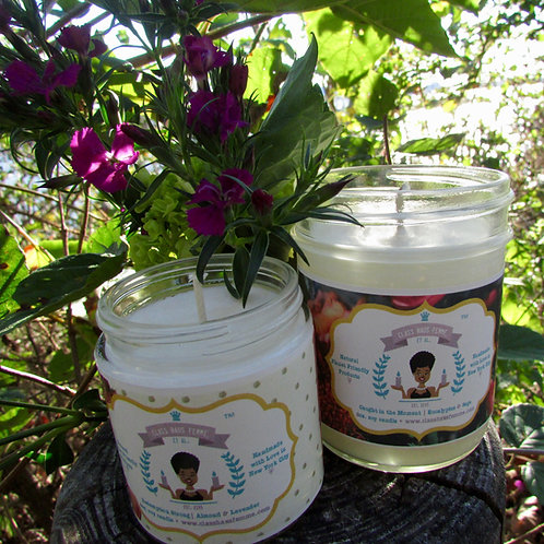 2 Mixed Candles Combo | Pick Your Fragrance | 4oz. & 8oz. Soy Candles