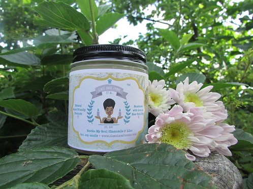 Soothe My Soul | Chamomile and Lilac | 4oz. Soy Candle