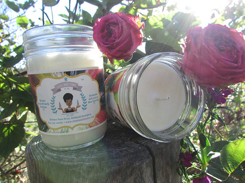 2 Medium Candles Combo | Pick Your Fragrance | 8oz. Soy Candle