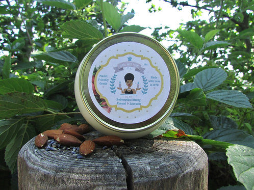 Redemption Strong | Almond and Lavender |12oz. Globe Jar Soy Candle