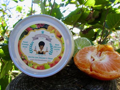 Zest For Life | Bergamot and Citrus | 12oz. Globe Jar Soy Candle