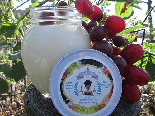 Dreams Come True | Cabernet Sauvignon | 12oz. Globe Jar Soy Candle