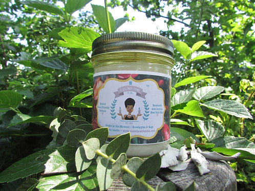 Caught in the Moment | Eucalyptus and Sage | 8oz. Soy Candle