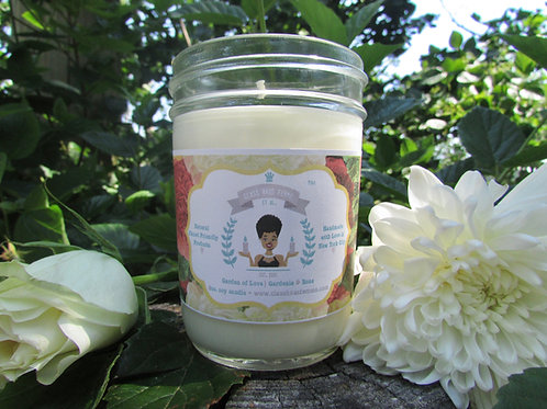 Garden of Love | Gardenia and Rose | 8oz. Soy Candle