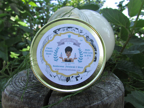 Rendezvous | Patchouli and Moss | 12oz. Globe Jar Soy Candle