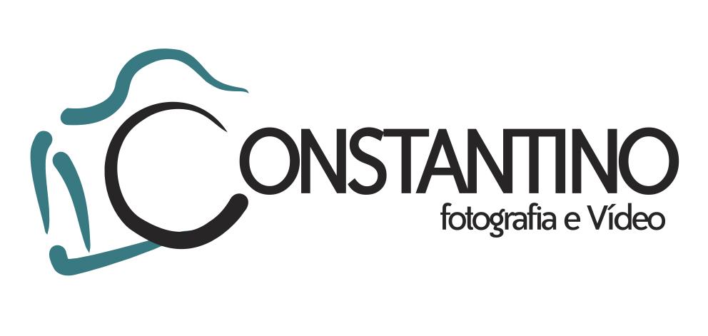 Logotipo Constantino Fotografia e Video criado por ZBR