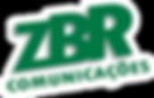 Logotipo ZBR Comunicações