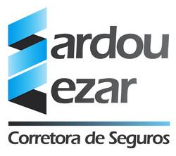 Logotipo Sardou e Cezar Corretrora de seguros criado por ZBR