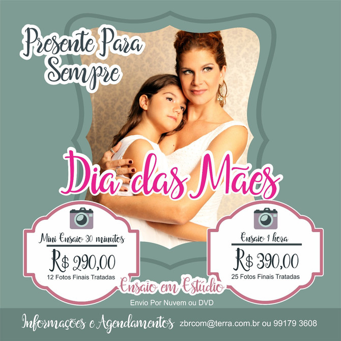 Promoção Exclusiva Para Presentear No Dia Das Mães!