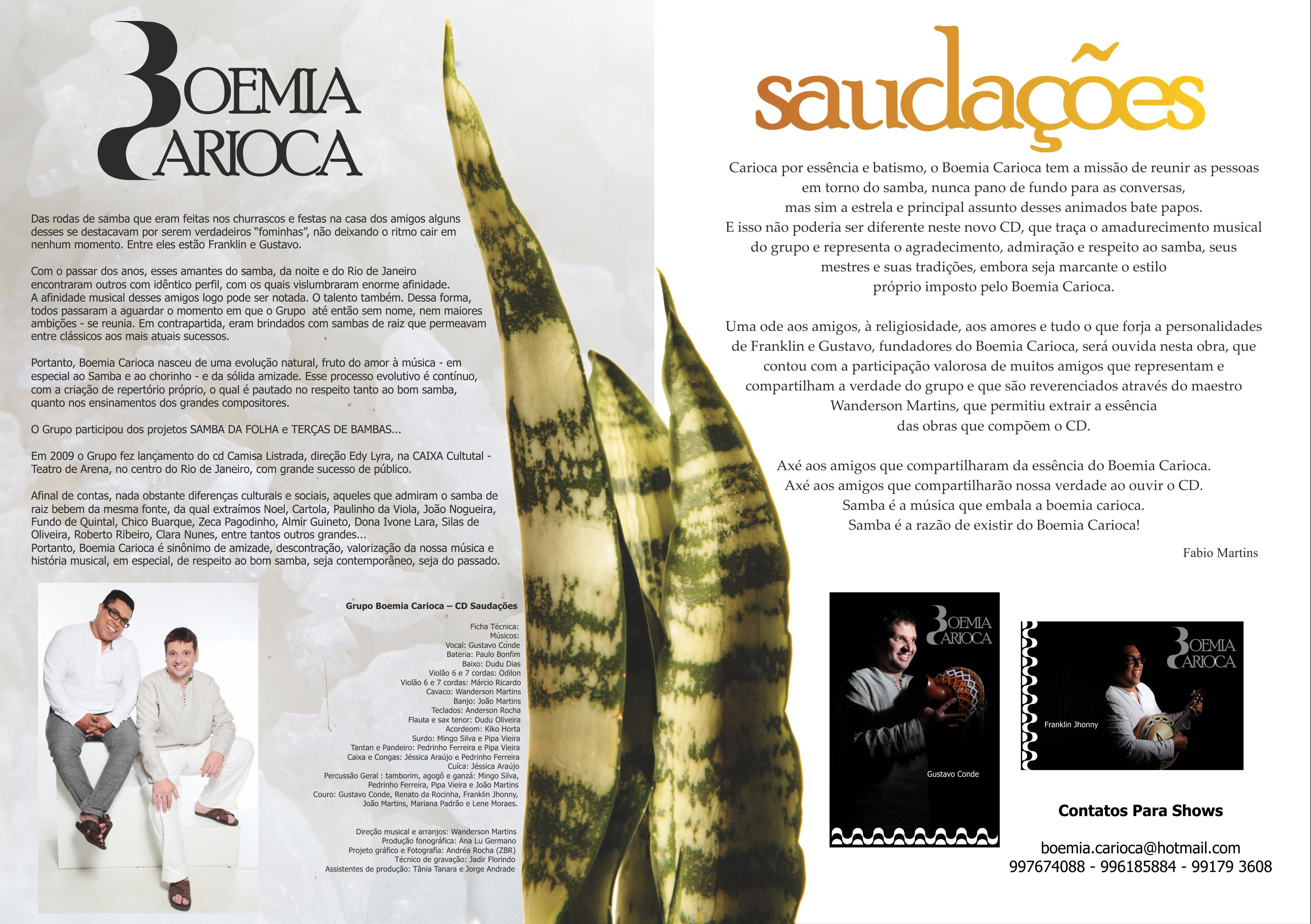 Release Boemia Carioca