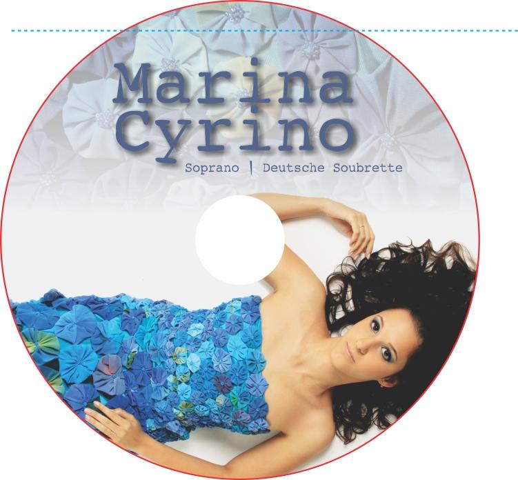 Rótulo CD Marina Cyrino