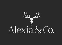Logotipo Alexia e Co PB
