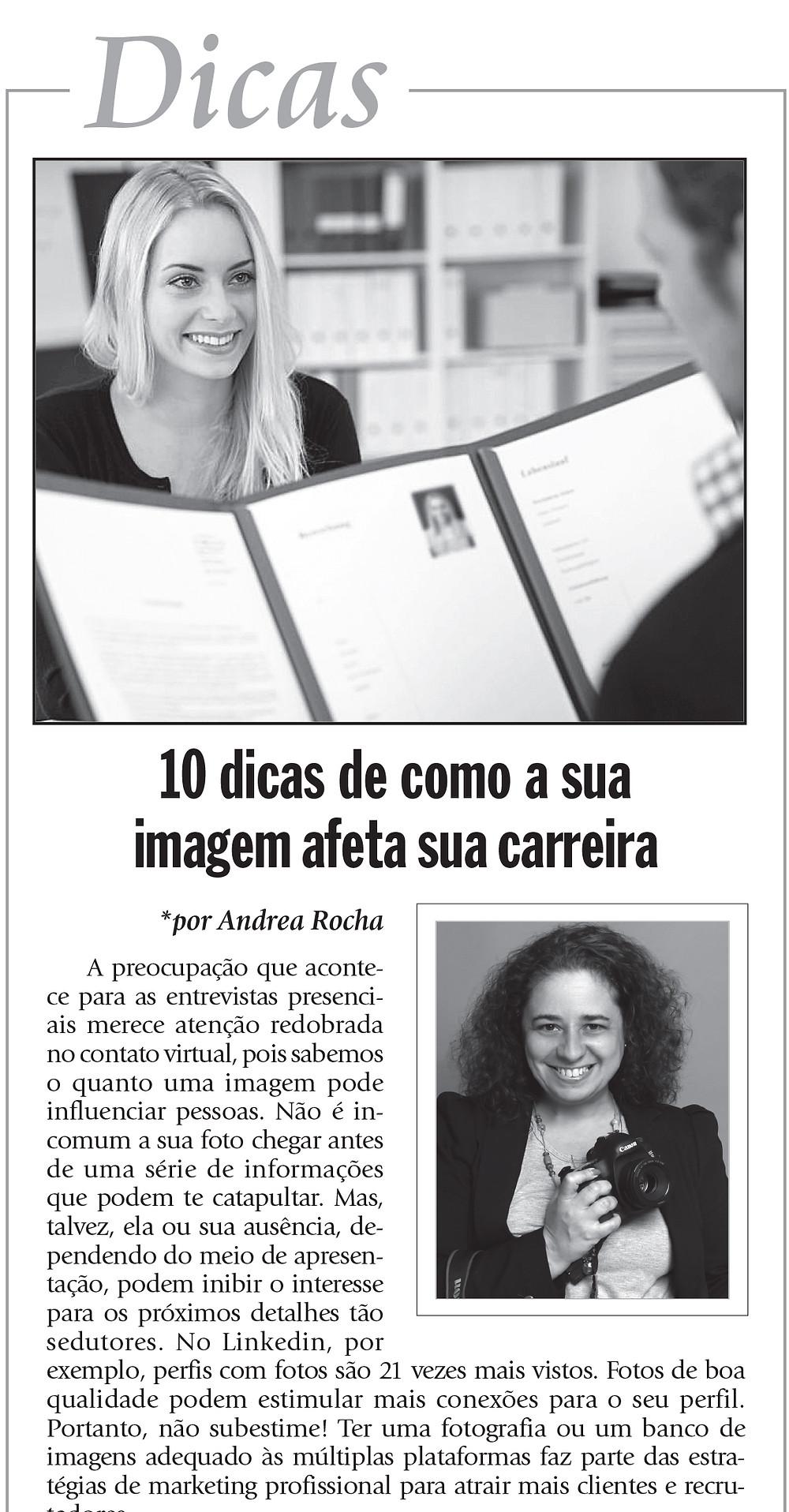 Recorte do Jornal Empregos e Estágios