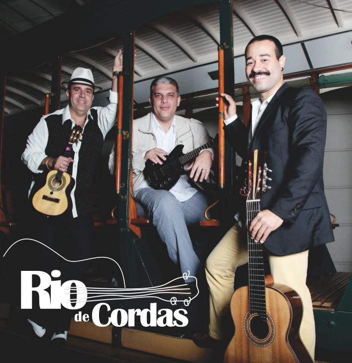 Projeto gráfico CD Rio Trio de Cordas