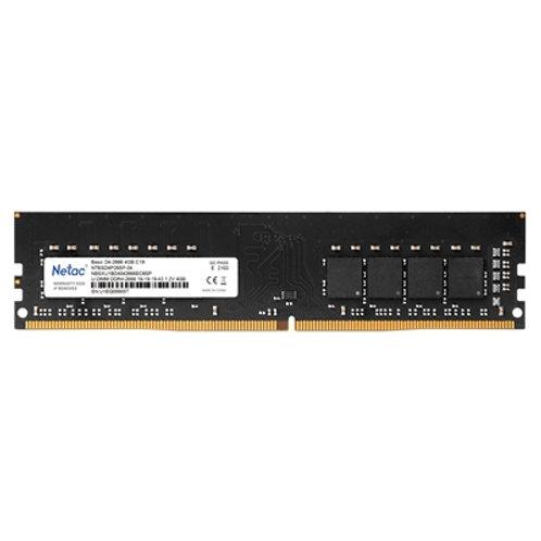 Netac 4GB No Heatsink (1 x 4GB) DDR4 2666MHz DIMM System Memory