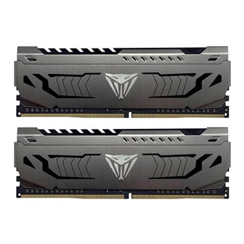 Patriot Viper Steel DDR4 16GB (2 x 8GB) 3000MHz Kit w/Gunmetal Grey heatshield