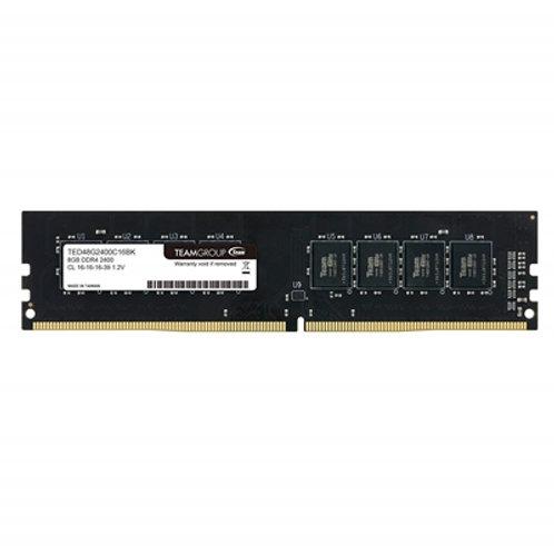 Team Elite Plus No Heatsink (1x8GB) DDR4 2400MHz Black DIMM