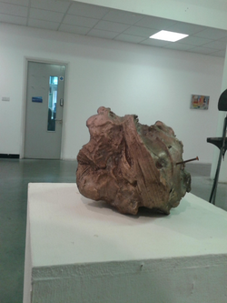 bronze, in besides painting exhibition