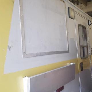 Vape truck window + shelf