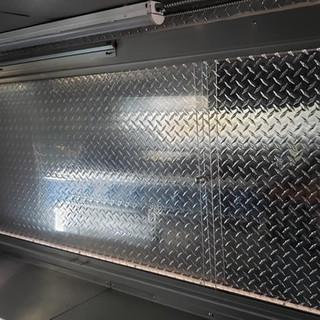 Food truck window repair