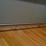 Stainless foot rest