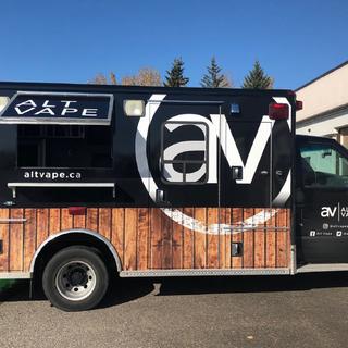 Finished vape truck