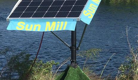 Farm Freshwater Dugout Reverse Osmosis Sun Mill