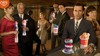 Mad Men Cocktail Hour With Chunk-N-Chip
