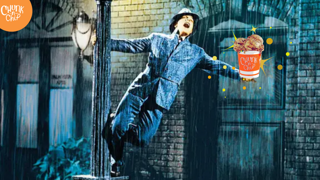 Singing In The Rain For Some Chunk-N-Chip