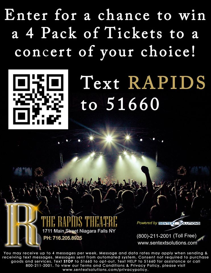 Text Marketing for Rapid's Theatre