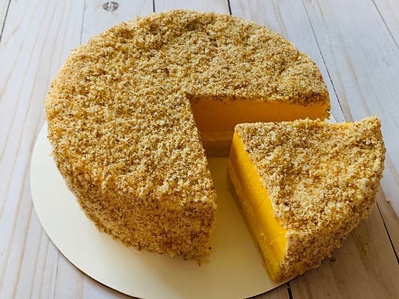Mango Double Fromage Cheesecake