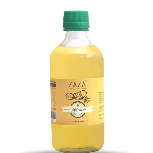 ZAZA Walnut Oil (अखरोट का तेल ) - 200ml