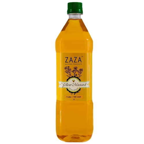 ZAZA Yellow Mustard Oil - Cold Pressed