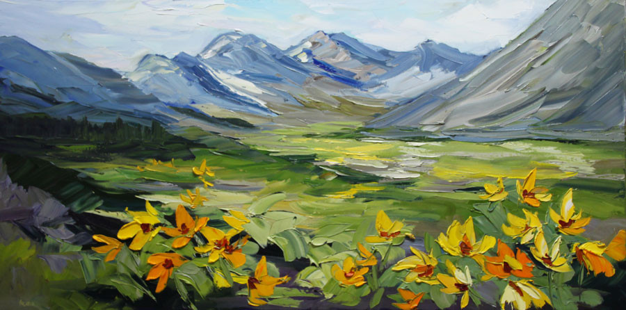 Warm Winds Blowing-24x48