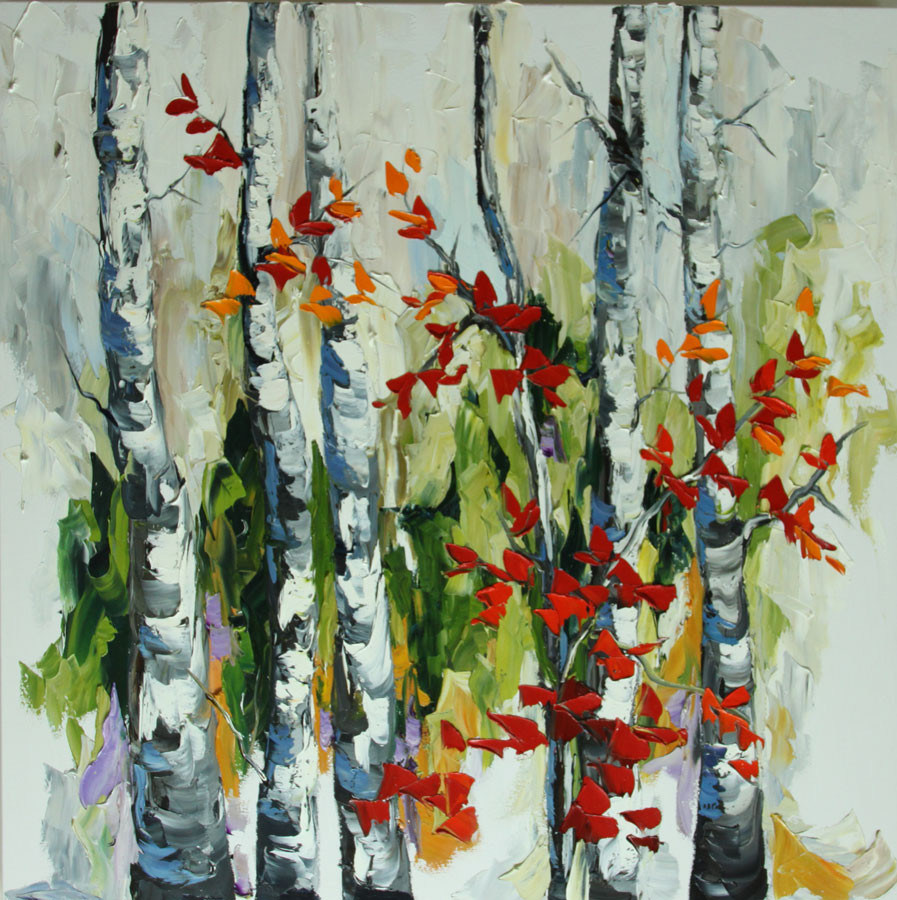 Reaching Out 1 36x36