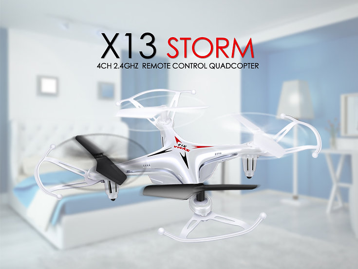 X13 2.4G 4 channel small rc Quad-copter