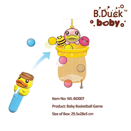 B.Duck - Baby Basketball Game No.WL-BD007