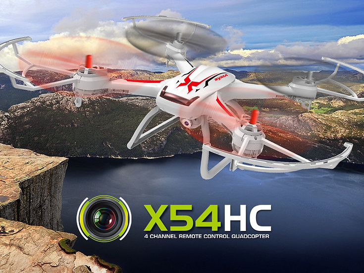 X54HC 2.4G 4 channel rc Quad-copter with gyro