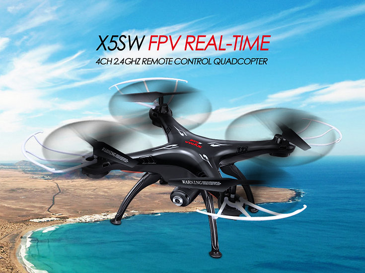 X5SW 2.4G 4 channel rc Quad-copter with gyro