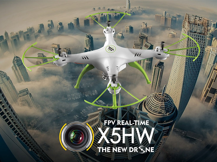 X5HW 2.4G 4 channel rc Quad-copter with gyro