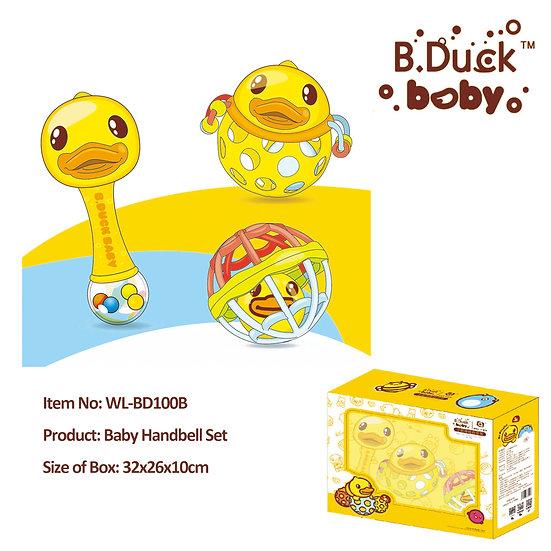 B.Duck - Baby Handbell Set No.WL-BD100B