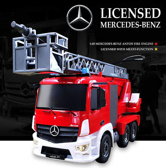 1:20 Licensed Mercedes-Benz ANTOS Fire Engine E27