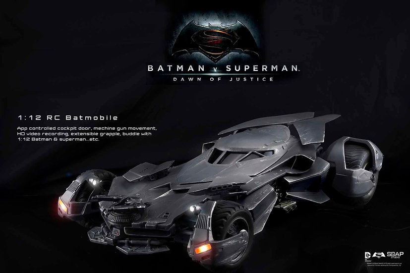 """Batman v Superman"" 1:12 RC BATMOBILE"