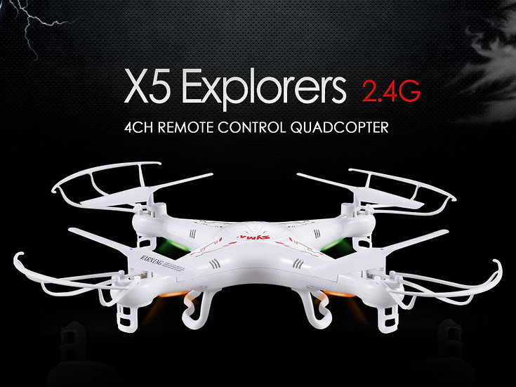 X5 2.4G 4 channel rc Quad-copter with gyro