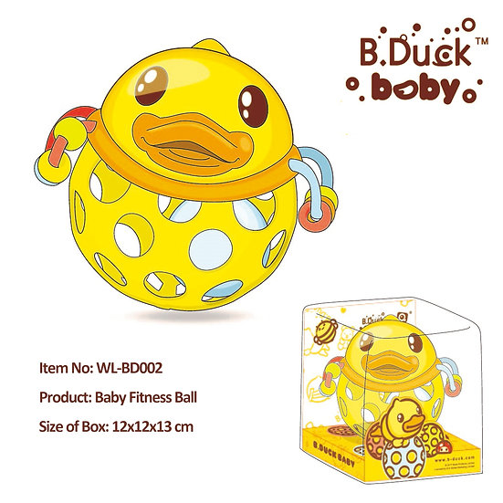 B.Duck - Baby Fitness Ball No.WL-BD002