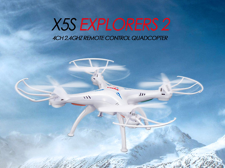 X5S 2.4G 4 channel rc Quad-copter with gyro