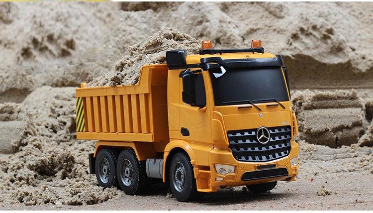 1:20 RC Mercedes-Benz Arocs Dump Truck No.E525