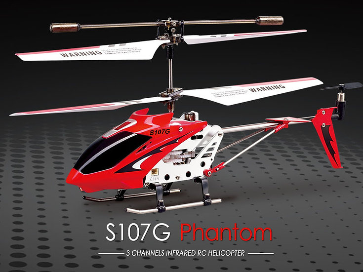 S107G 3.5-CH   I/R  MetalHelicopter with Gyro